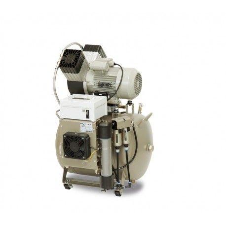 Kompresor EKOM DK50 2V/50/M - bez skrzynki, z membranowym osuszaczem