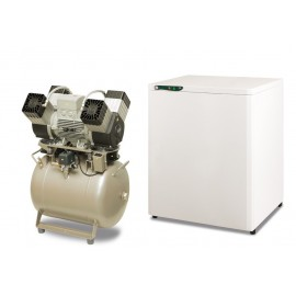 Kompresor EKOM DK50 4VR/50S - ze skrzynką