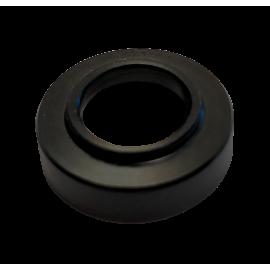 Czarny pierścień plastikowy lampy ULTRALIGHT