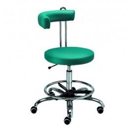 Krzesełko Lekarza D10L extra z podnóżkiem