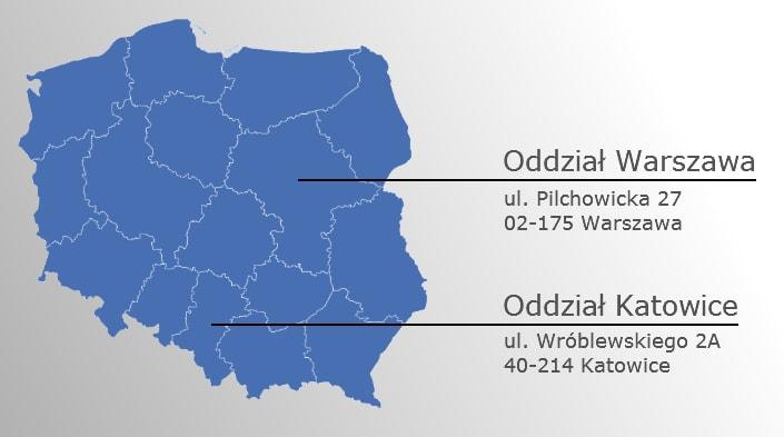 Oddziały Eur-Med Polska